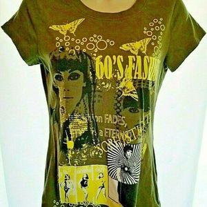 Appropriate Behavior T-shirt Fashion 60's Womens S